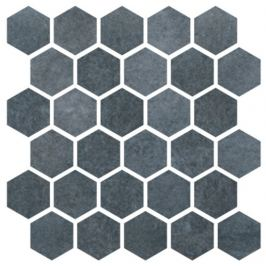 Mozaika Cir Materia Prima navy sea hexagon 27x27 cm lesk 1069915