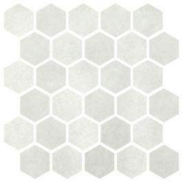 Mozaika Cir Materia Prima cloud white hexagon 27x27 cm lesk 1069910