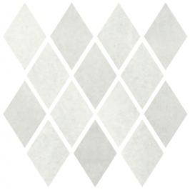 Mozaika Cir Materia Prima cloud white rombo 25x25 cm lesk 1069896