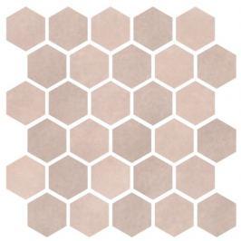 Mozaika Cir Materia Prima pink velvet hexagon 27x27 cm lesk 1069917