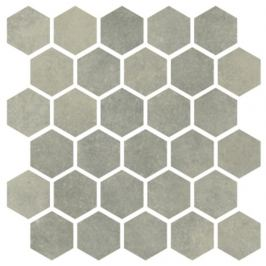 Mozaika Cir Materia Prima soft mint hexagon 27x27 cm lesk 1069918