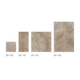 Dlažba Cir Molo Audace terra d´ormeggio 20x20,20x40,40x40,40x60 cm mat 10685481