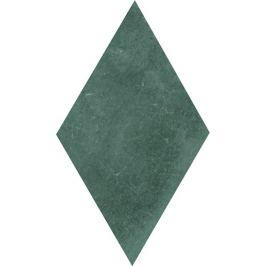 Obklad Cir Materia Prima hunter green rombo 13,7x24 cm lesk 1069790