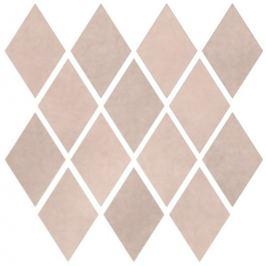 Mozaika Cir Materia Prima pink velvet rombo 25x25 cm lesk 1069903