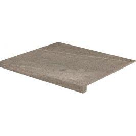 Schodová Tvarovka Rako Random hnedá 53x60 cm mat DCF65677.1