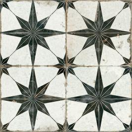 Dlažba Peronda FS Star negro 45x45 cm mat FSSTARN