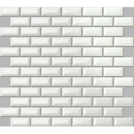 Keramická mozaika Premium Mosaic biela 30x30 cm lesk MOS2348WH