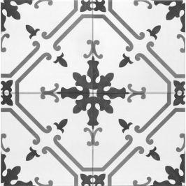 Dlažba Tonalite Aquarel grigio elektra 15x15 cm mat AQUELEGR
