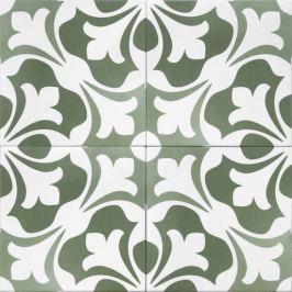 Dlažba Tonalite Aquarel verde sirius 15x15 cm mat AQUSIRVE