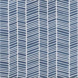 Dlažba Tonalite Aquarel navy blu cream stripe 15x15 cm mat AQUCHENC