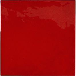 Obklad Equipe VILLAGE volcanic red 13x13 cm lesk VILLAGE25592