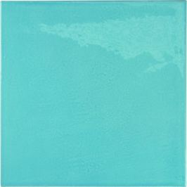 Obklad Equipe VILLAGE azure blue 13x13 cm lesk VILLAGE25625