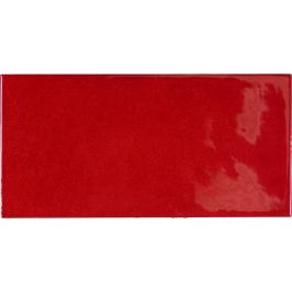 Obklad Equipe VILLAGE volcanic red 6,5x13 cm lesk VILLAGE25581