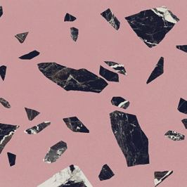 Dlažba Ergon Medley pink 60x60 cm mat EH8V