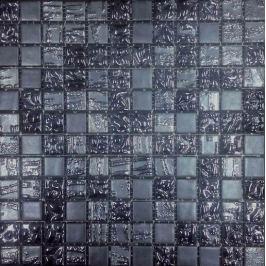 Sklenená mozaika Mosavit Trendy antracita 30x30 cm mat / lesk TRENDYAN