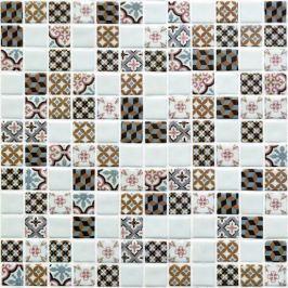 Sklenená mozaika Mosavit Toscana mix 30x30 cm mat TOSCANAMIX