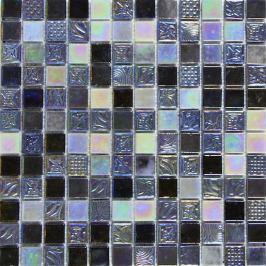 Sklenená mozaika Mosavit Oriental gris 30x30 cm lesk ORIENTALGR