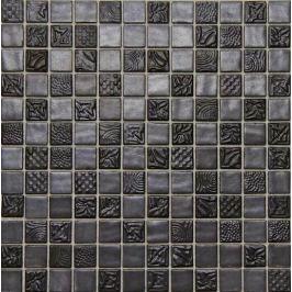 Sklenená mozaika Mosavit Pandora ferro 30x30 cm lesk PANDORA50FE