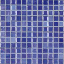 Sklenená mozaika Mosavit Acquaris Cobalto 30x30 cm lesk ACQUARISCO