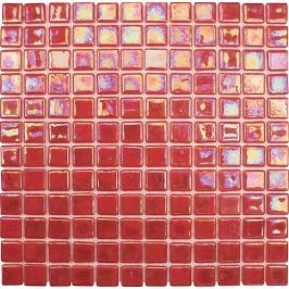 Sklenená mozaika Mosavit Acquaris červená 30x30 cm lesk ACQUARISPA