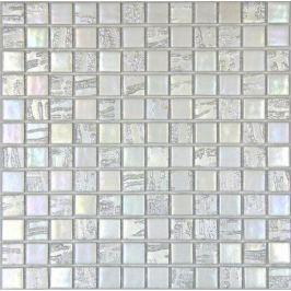 Sklenená mozaika Mosavit Bamboo blanco 30x30 cm mat / lesk BAMBOOBL50