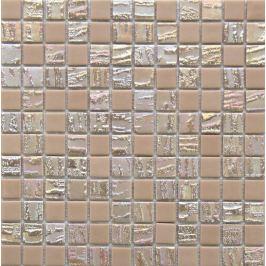 Sklenená mozaika Mosavit Bamboo beige 30x30 cm mat / lesk BAMBOOBE50