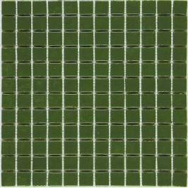 Sklenená mozaika Mosavit Monocolores Verde 30x30 cm lesk MC301