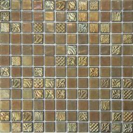 Sklenená mozaika Mosavit Pandora oda 50% 30x30 cm lesk PANDORAODA50