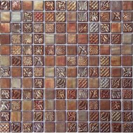 Sklenená mozaika Mosavit Pandora tornasol 30x30 cm lesk PANDORATO50