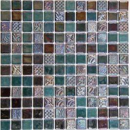 Sklenená mozaika Mosavit Oriental sahe 30x30 cm lesk ORIENTALSA