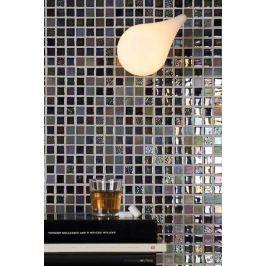 Sklenená mozaika Mosavit Sundance negro 30x30 cm mat / lesk SUNDANCENE