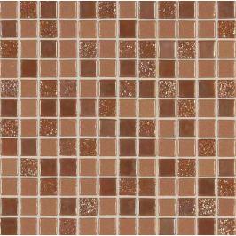 Sklenená mozaika Mosavit Sundance Bronce 30x30 cm mat / lesk SUNDANCEBR