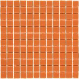 Sklenená mozaika Mosavit Monocolores naranja 30x30 cm lesk MC702