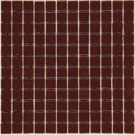 Sklenená mozaika Mosavit Monocolores marron 30x30 cm lesk MC801