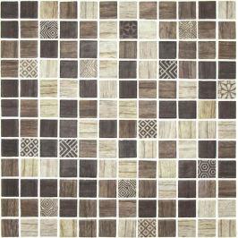 Sklenená mozaika Mosavit Forest tilos 30x30 cm mat FORESTTI