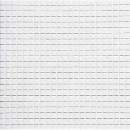 Sklenená mozaika Mosavit Mikros Bianco 30x30 cm mat MIKROSBI