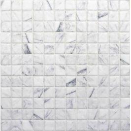 Sklenená mozaika Mosavit Marble callacata 30x30 cm mat MOSCALACATTA