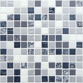 Sklenená mozaika Mosavit Galaxy orion 30x30 cm lesk GALAXYOR