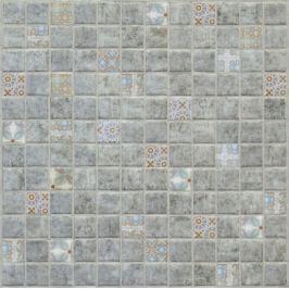 Sklenená mozaika Mosavit Concrete decor 30x30 cm mat DCONCRETE