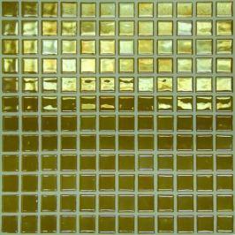 Sklenená mozaika Mosavit Metalico dorado 30x30 cm lesk METALICODO