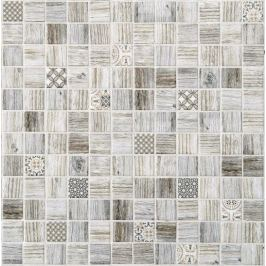 Sklenená mozaika Mosavit Forest irati 30x30 cm mat DFORESTIR