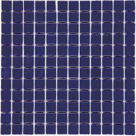 Sklenená mozaika Mosavit Monocolores Marino 30x30 cm lesk MC202