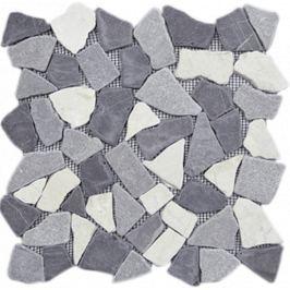 Kamenná mozaika Mosavit Piedra noa gris 30x30 cm mat PIEDRANOAGR