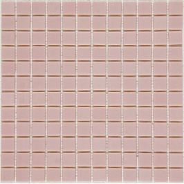Sklenená mozaika Mosavit Monocolores Rosa 30x30 cm lesk MC601