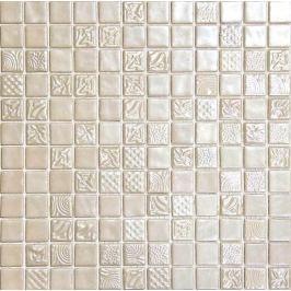 Sklenená mozaika Mosavit Pandora vainiglia 30x30 cm lesk PANDORAVA50
