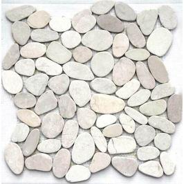 Kamenná mozaika Mosavit Piedra batu blanco 30x30 cm mat PIEDRABATUBL