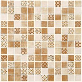 Sklenená mozaika Mosavit Riviere cotto 30x30 cm mat RIVIERECO