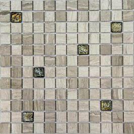 Mozaika Mosavit Wooden gris 30x30 cm mat / lesk WOODENGRPANDORAMIX