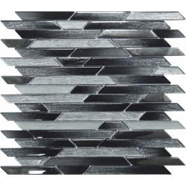 Sklenená mozaika Mosavit Belart gris 30x30 cm mat / lesk BELARTGR