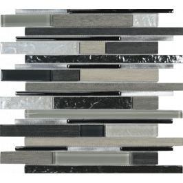 Mozaika Mosavit Timber gris 30x35 cm mat / lesk TIMBERGR
